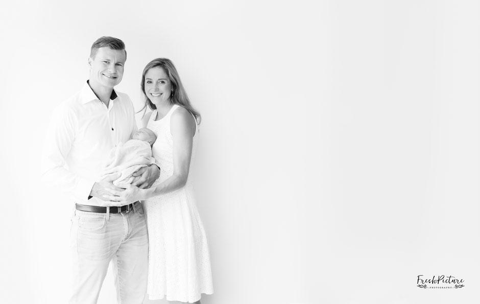 Schwarz/Weiss Familienfotos