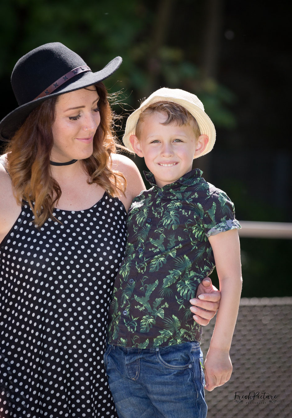 Coole Outfits fürs Familienfoto
