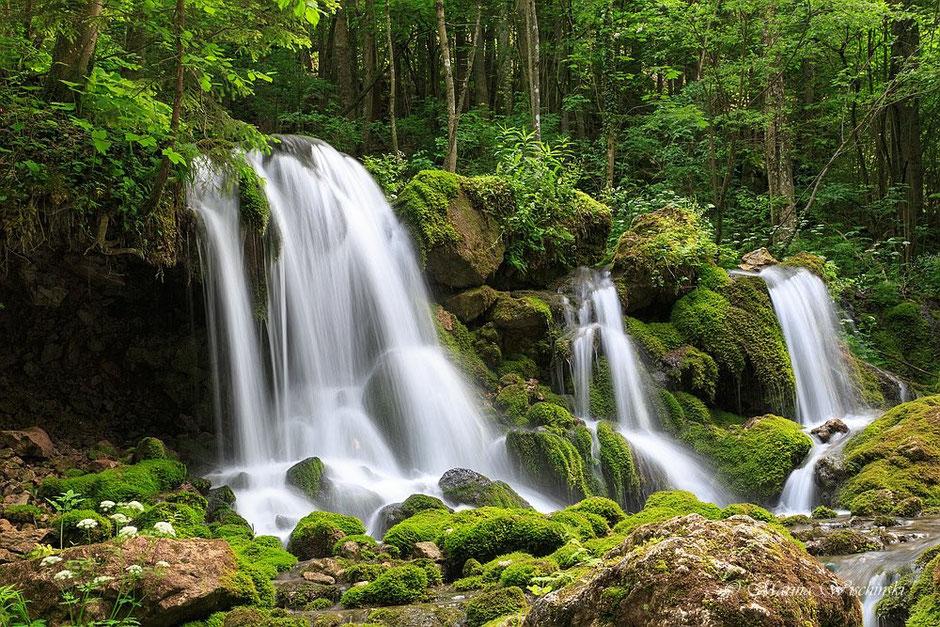 Wasserfall am Fuße des Hochlantsch