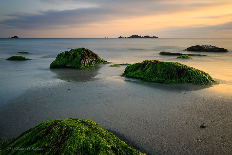 Am Strand bei Plouarzel, Finistere, Bretagne, Frankreich