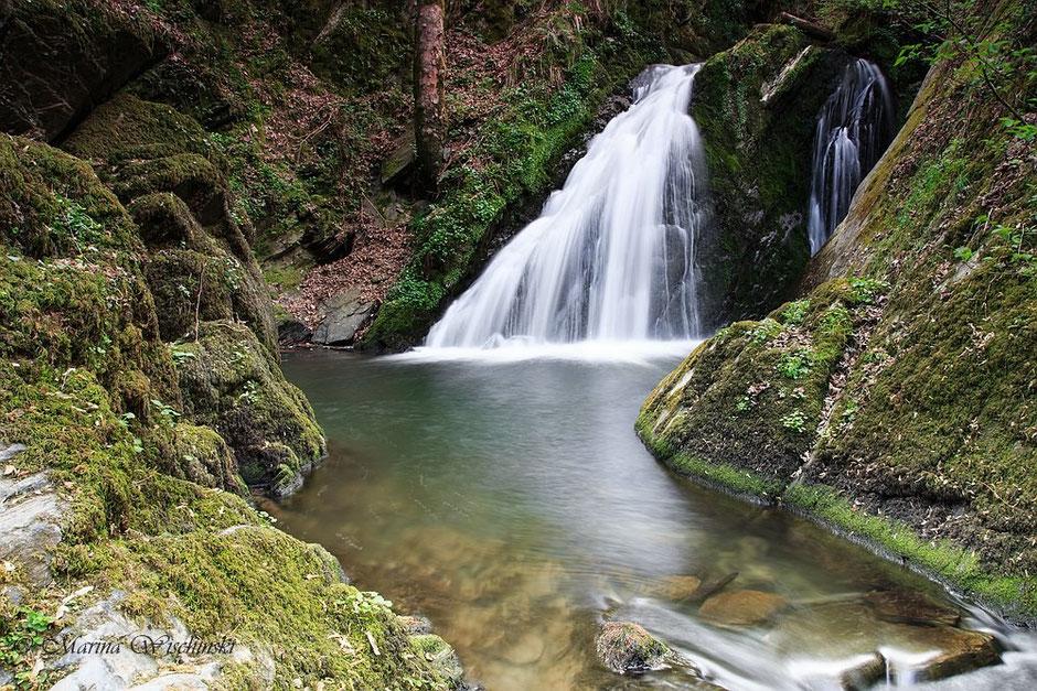 Am Wasserfall...