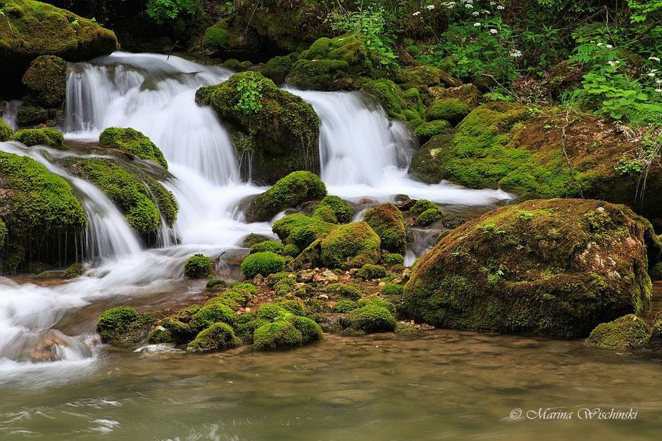 Weiterer Teil des Wasserfalls im Hochlantschgebiet