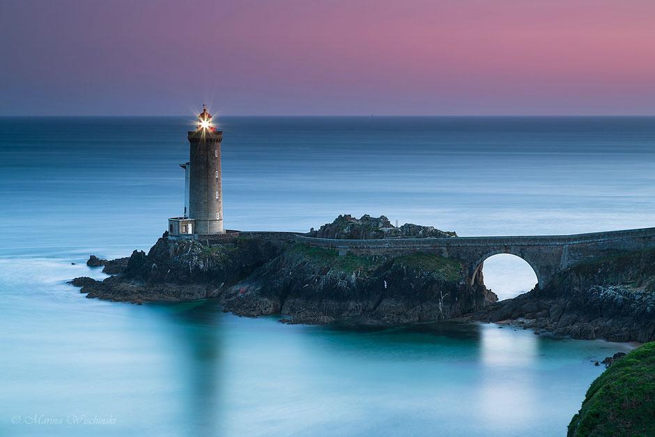 Phare du Petit Minou, Plouzane, Finistere, Bretagne, Frankreich