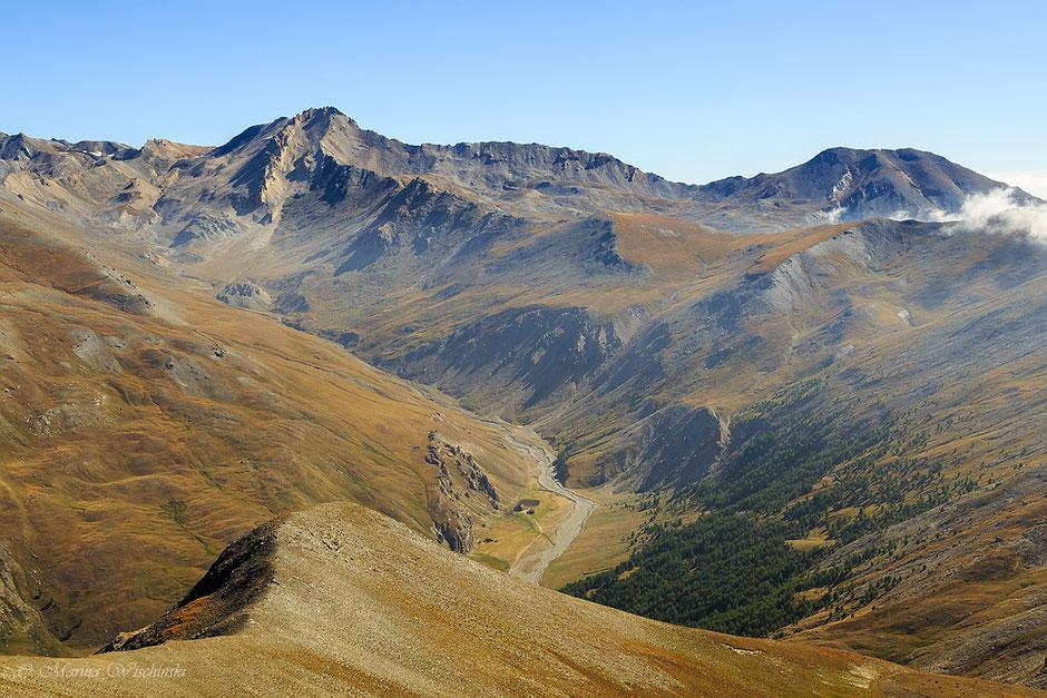 In den Cottischen Alpen, Piemont, Italien