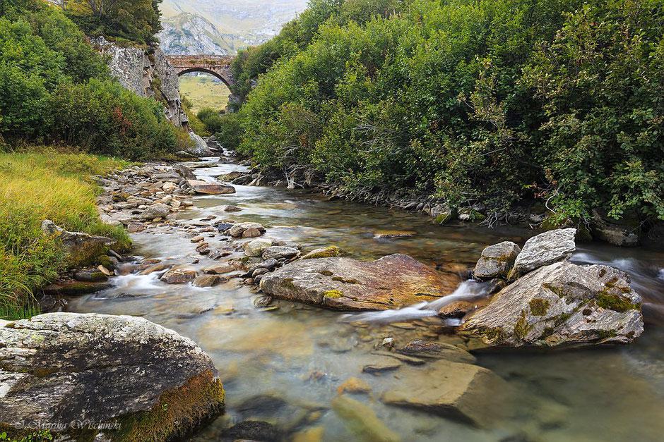 Brücke im Val Bedretto