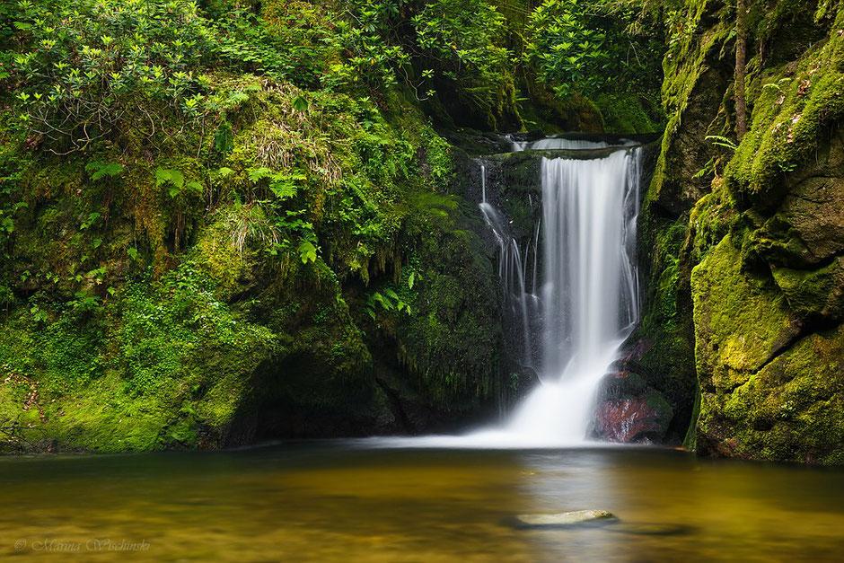 - 2 -  Schwarzwald-Wasserfall