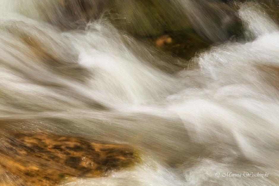Detailaufnahme des Wasser