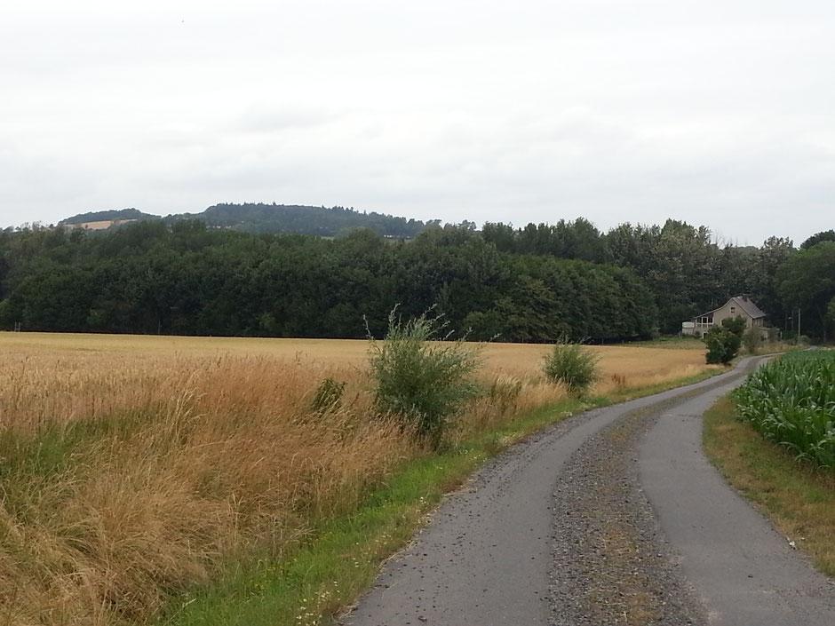 Lessingturm (Station 66) auf dem Hutberg, das 1. Ziel von Tour 4