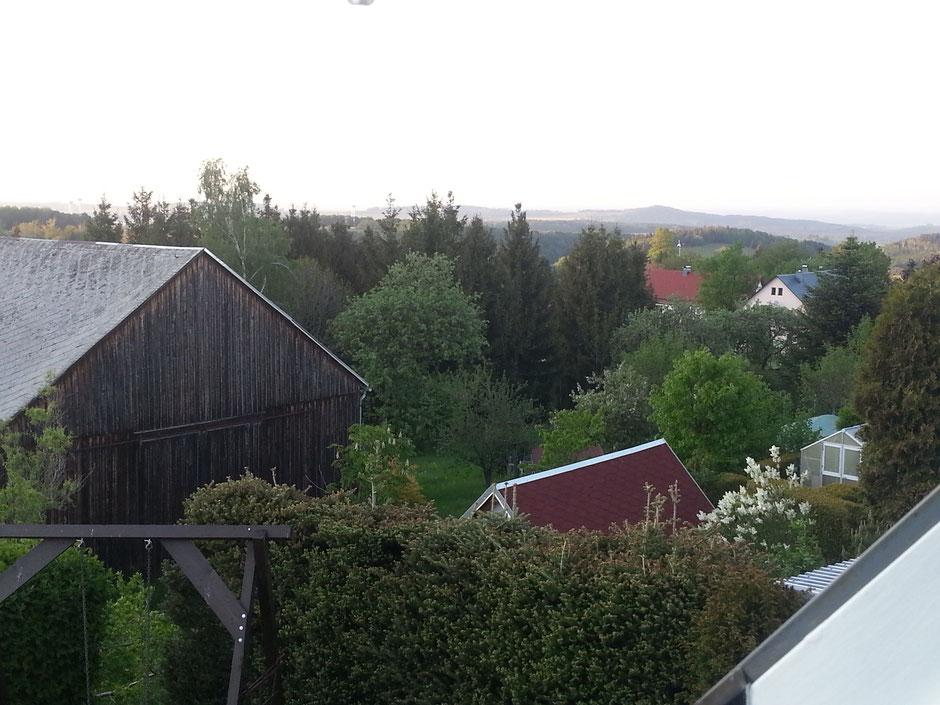 aus der Ferienwohnung in Oberfrauendorf zum Wilisch