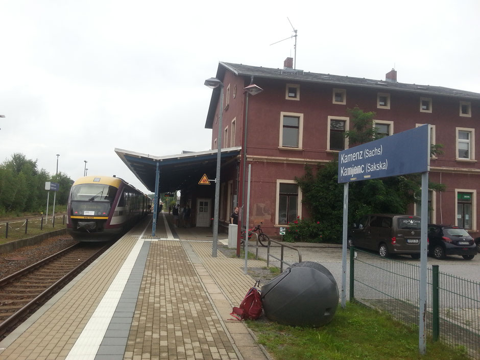Kamenz Bahnhof