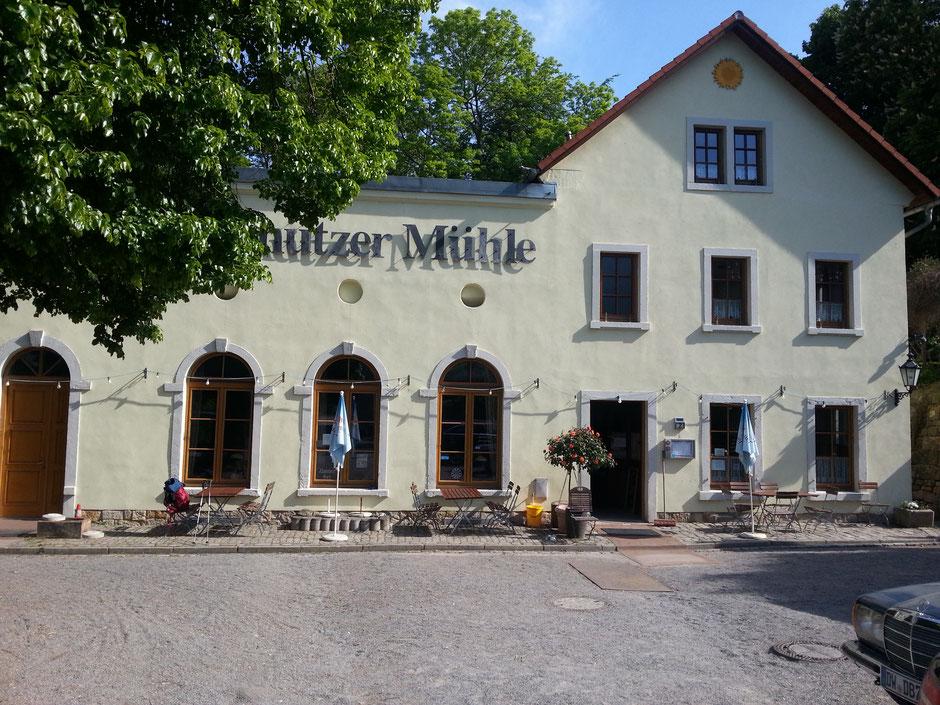 Eutschützer Mühle am Nöthnitzbach