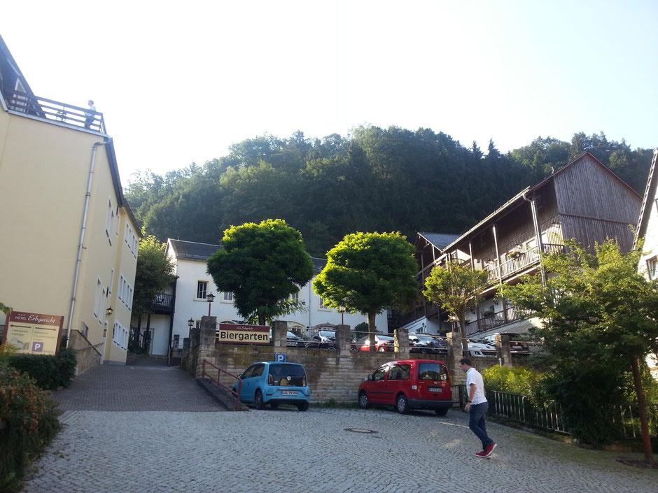 Hotel Erbgericht in Krippen