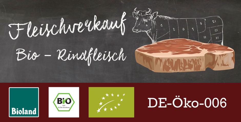 Fleischverkauf, Bio Fleisch, Rindfleisch,