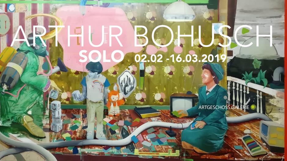 Ausstellung Arthur Bohusch