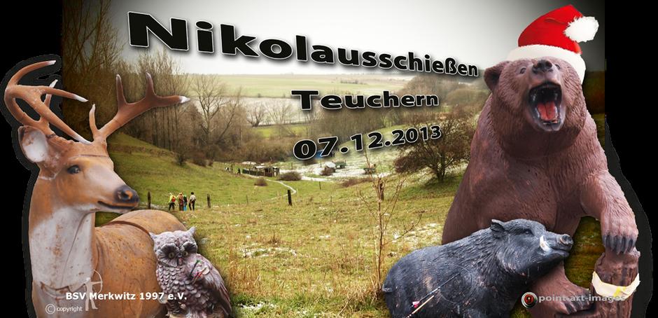 Nikolausschiessen, Krähenberg in Teuchern am 07.12.2013