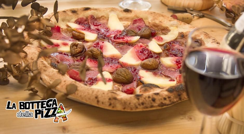 Pizza gourmet à la bottega della pizza Casteau, Soignies, Mons, Hainaut, Belgique