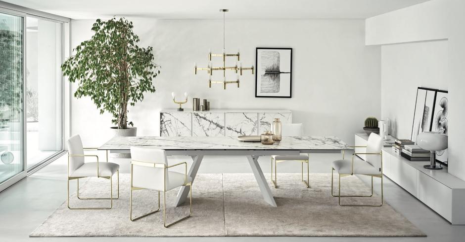 Arredamento moderno soggiorno, Tavolo moderno per il soggiorno