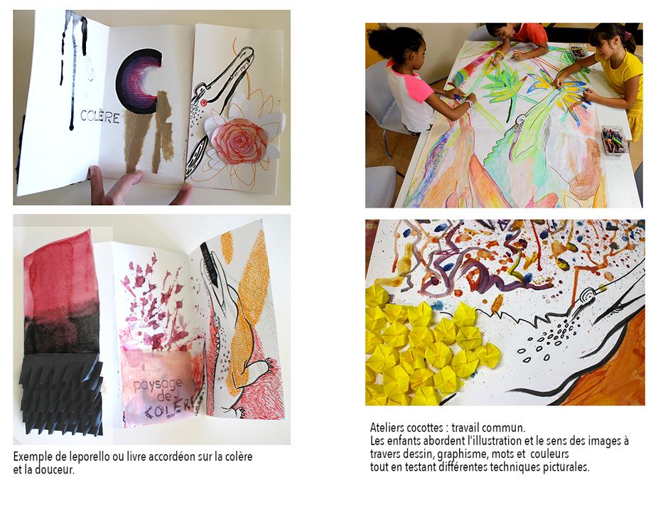 Creation De Livres Artistiques Solen Coeffic Illustratrice