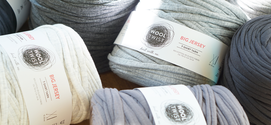 Textilgarn Big Jersey in vielen Farben von Wooltwist