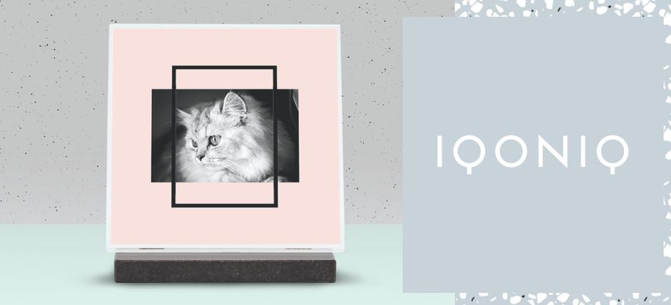 IQONIQ, plaques funéraires design personnalisées pour particuliers