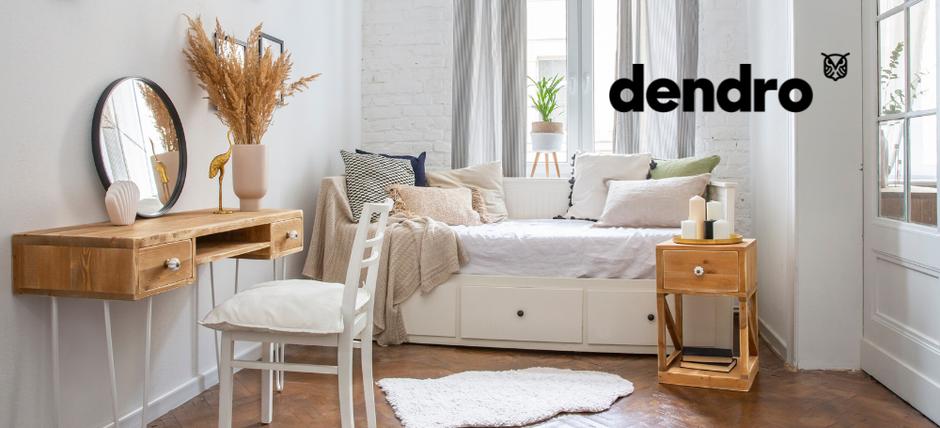 dendro, meubles de caractère en bois massif pour particuliers