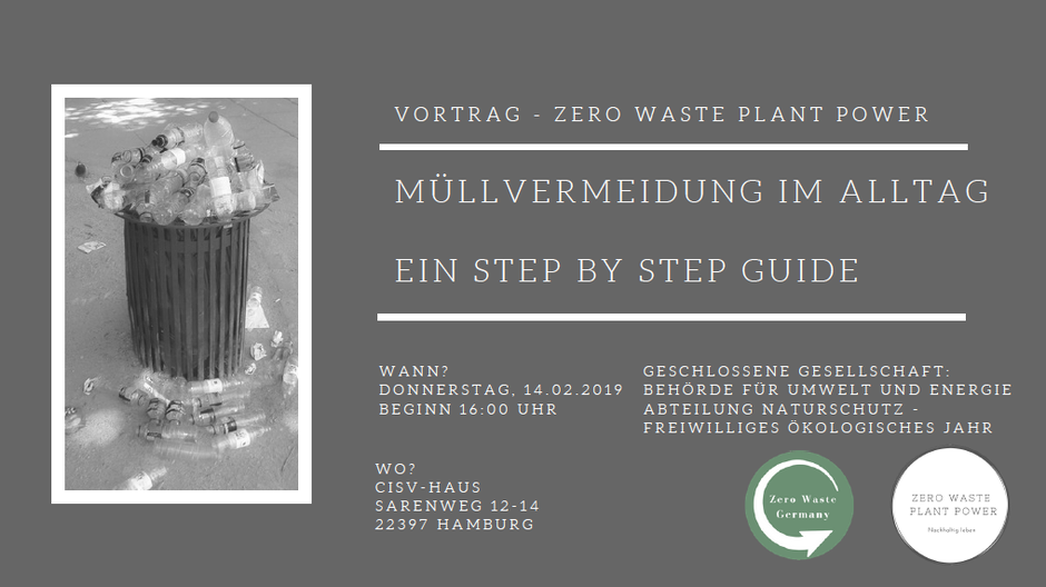 Zero Waste Plant Power - Zero Waste Germany Vortrag