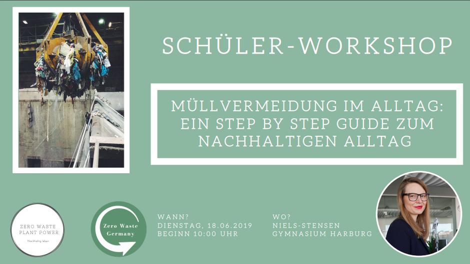 Zero Waste Plant Power Schüler Workshop - Marlena Sdrenka
