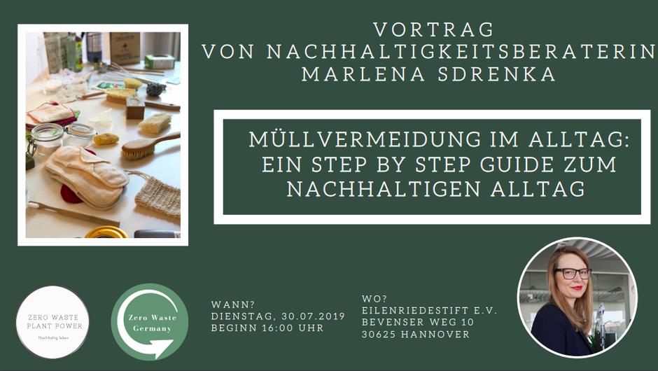 Zero Waste Plant Power Senioren Vortrag - Marlena Sdrenka