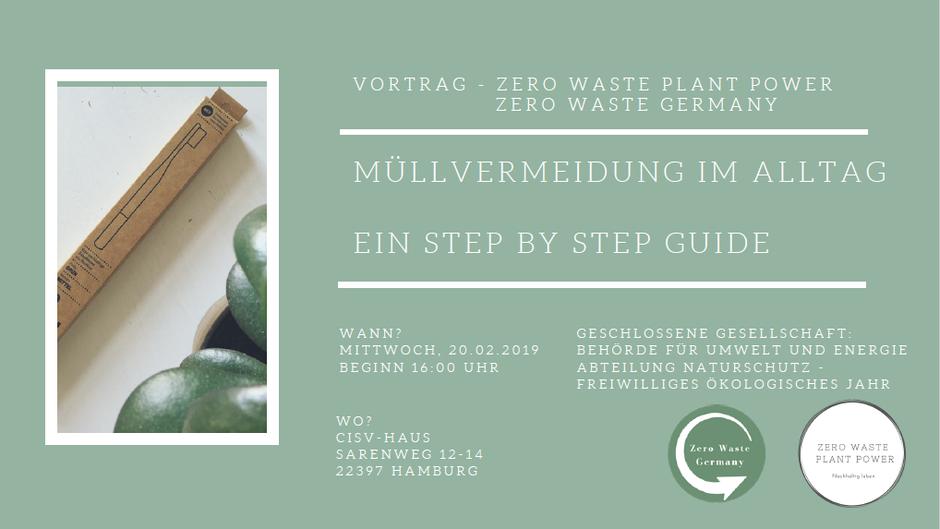 Zero Waste Plant Power - Zero Waste Germany Vortrag
