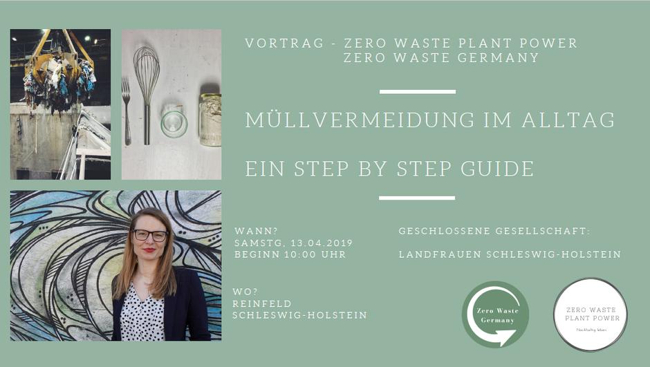 Vortrag Müllvermeidung -Zero Waste Schleswig-Holstein