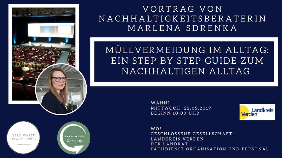 Vortrag zum Thema Nachhaltigkeit Landkreis Verden