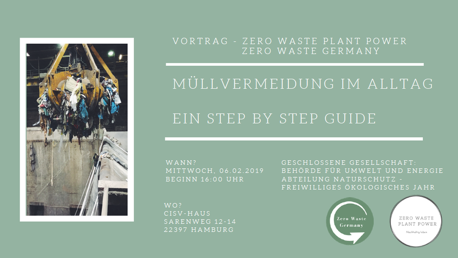 Zero Waste Plant Power / Zero Waste Germany Vortrag