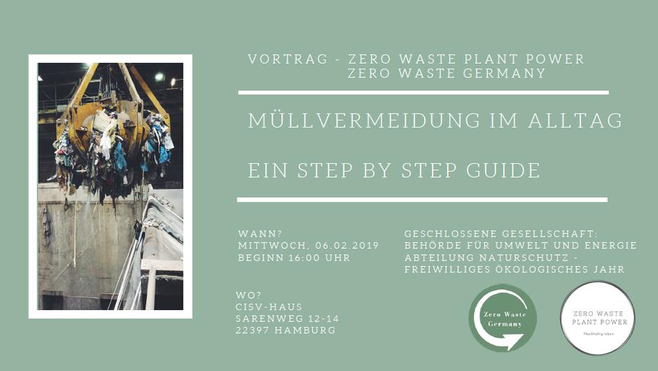 Zero Waste Plant Power / Zero Waste Germany Vortrag