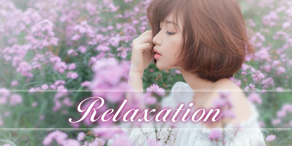 ゆったりとした雰囲気の中で癒しの時間をお楽しみください