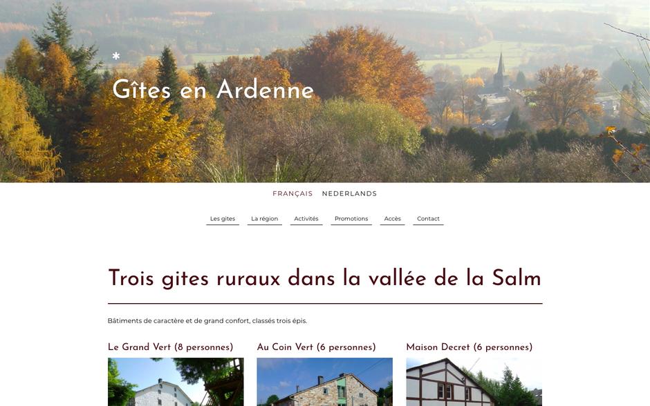 Le nouveau site (design Zurich)