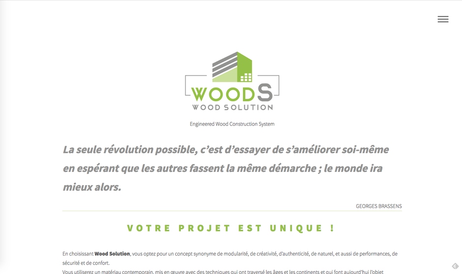 L'ancien site de WoodSolution