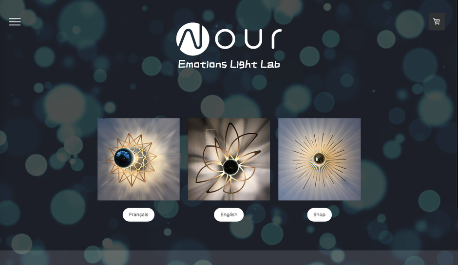 Le nouveau site de Nour Lighting (design Copenhagen)