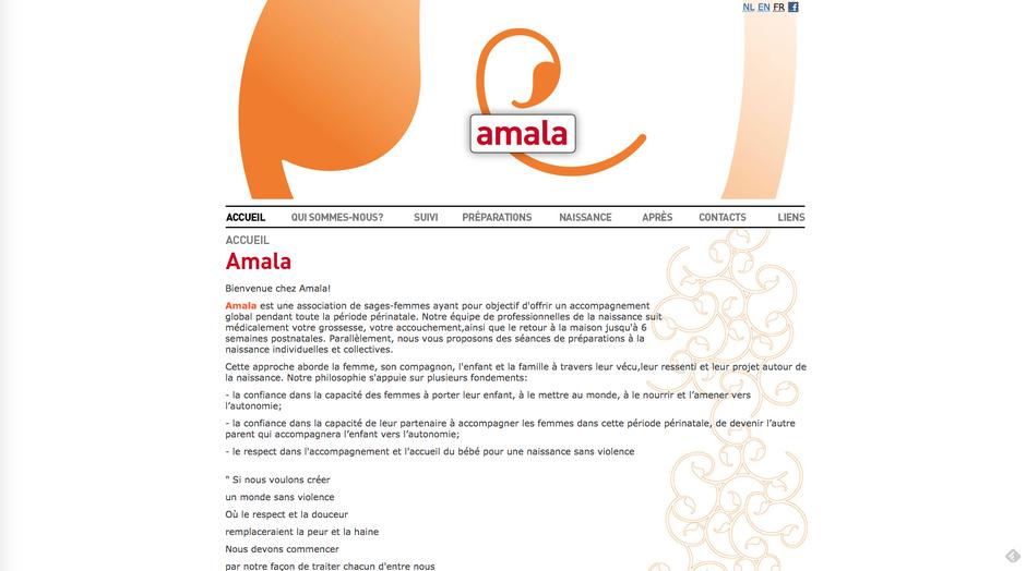 L'ancien site d'Amala