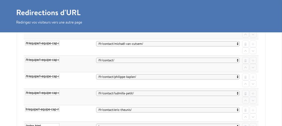 Les redirections d'URL : une fonction de JimdoBusiness essentielle pour conserver un bon référencement
