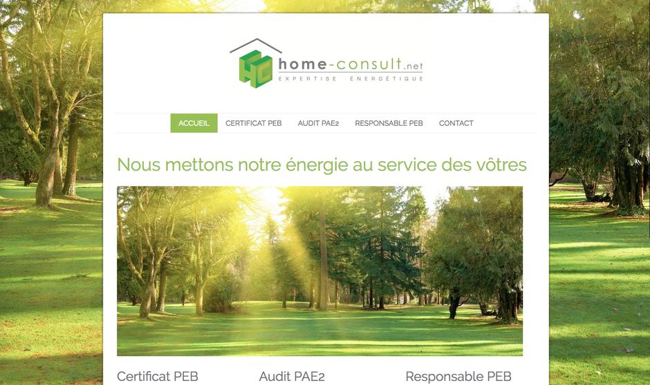 Le nouveau site de Home-Consult.net
