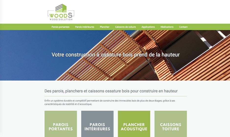 Le nouveau site de WoodSolution