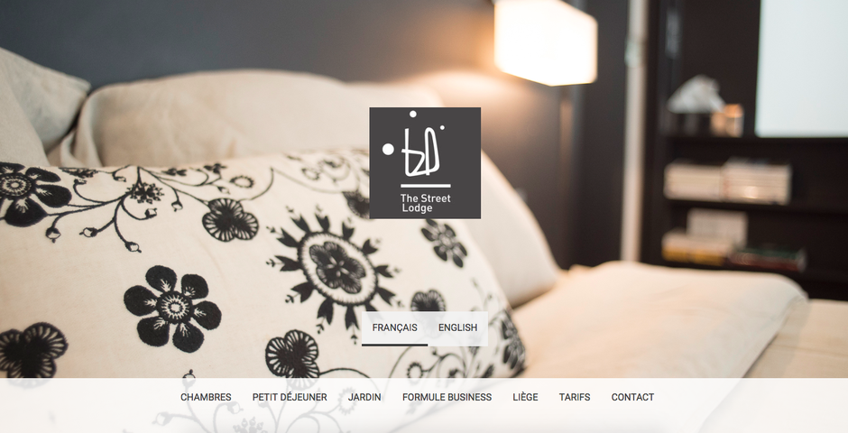 Le nouveau site de The Street Lodge (design Rio)