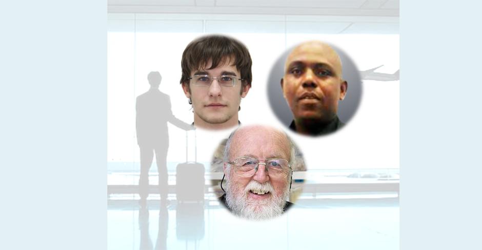 Georgy Ganchenko, Eric Amonsou et Roger Lentle