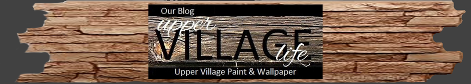 Benjamin Moore Upper Village Paint and Wallpaper Blog; Upper Village Life