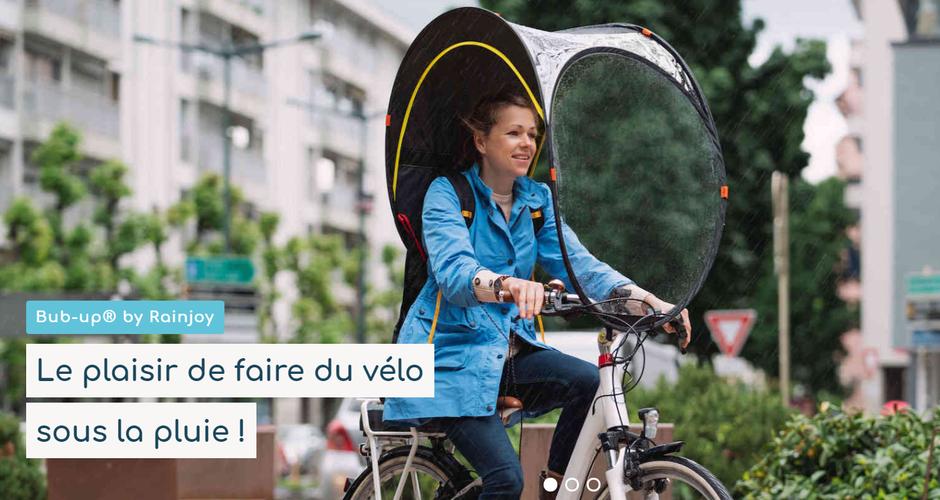 Protection contre la pluie pour vélo