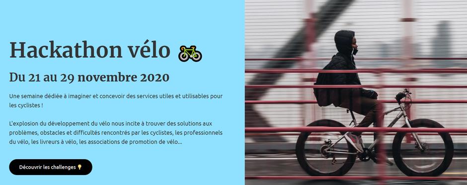 hackathon vélo