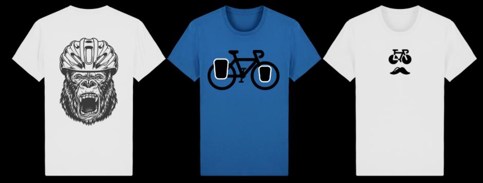 t-shirt pro vélo