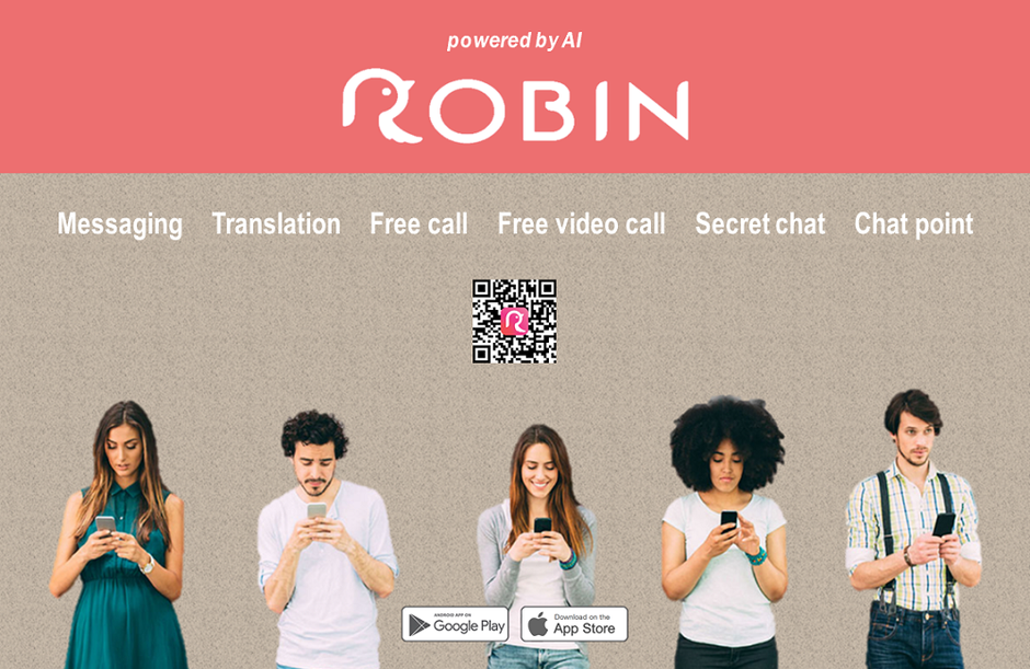 ROBIN Chat SNS - Free call messaging app
