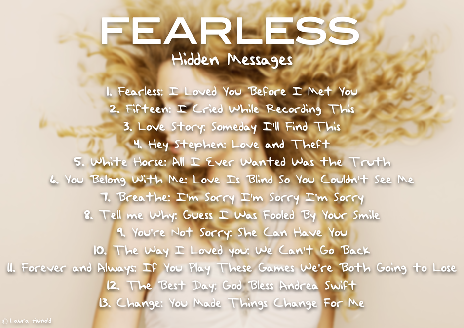 Fearless Hidden Messages