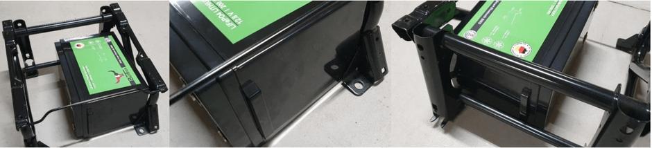 Einbau Bulltron Batterie und Fiat Ducato Sitz, LiFePO4, Lithium Batterie im Wohnmobil, Autarkie, Leben im Wohnmobil
